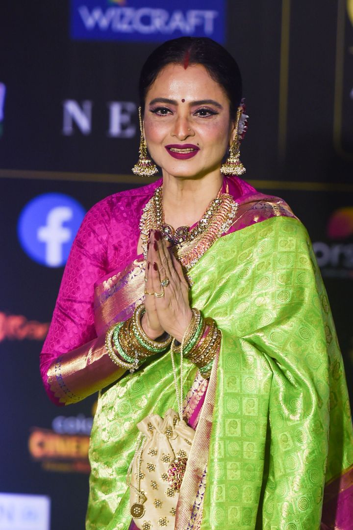 Rekha at IIFA Awards.