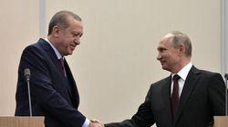 Βλαντίμιρ Πούτιν και Ταγίπ Ερντογάν συζήτησαν από τις ντομάτες έως τους