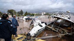 Τα σχόλια των κομμάτων για τις καταστροφές από την