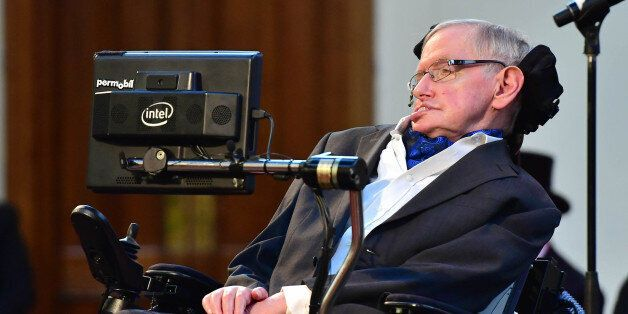 Professor Stephen Hawking receives the Honorary Freedom of the City of London, in recognition of his...