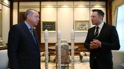 Ο Έλον Μασκ συνάντησε τον Ερντογάν: Τουρκικοί δορυφόροι και συνεργασία Tesla με τουρκικές εταιρείες στην