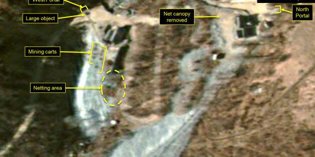 PUNGGYE-RI NUCLEAR TEST SITE, NORTH KOREA - NOVEMBER 1, 2017. Figure 5. While no new spoil has been added...