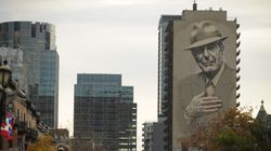 Το Μόντρεαλ τίμησε τον Leonard Cohen με μια τεράστια τοιχογραφία-πορτρέτο στο κέντρο της