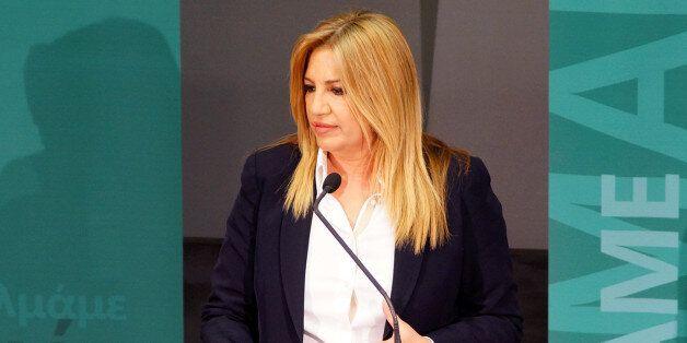 Γεννηματά: Καμία συνεργασία με το ΣΥΡΙΖΑ. Συγκυβερνούν με τους