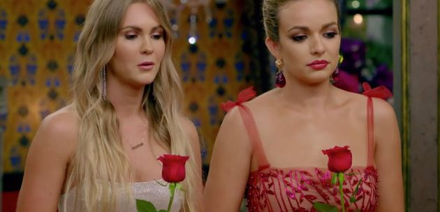 The Bachelor 2019 finalists Chelsie Mcleod (left) and Abbie