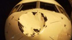 Μυστήριο ατύχημα στον αέρα: Tι μπορεί να προκάλεσε αυτή τη ζημιά σε αεροπλάνο που μετέφερε ομάδα του