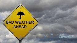 Χαλάει ο καιρός από Δευτέρα. Καταιγίδες έως και χαλάζι προβλέπει η ΕΜΥ στο έκτακτο δελτίο
