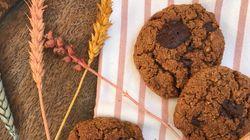 Μπισκότα κολοκύθας με κομματάκια