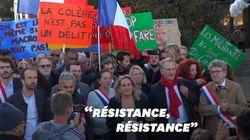 La France insoumise débarque en force au procès de Jean-Luc