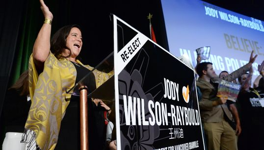 Jody Wilson-Raybould On Cusp Of Taking Seat From Party That Ejected