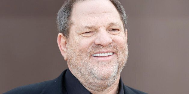 U.S. film producer Harvey Weinstein arrives to attend the presentation of the Burberry Autumn/Winter...