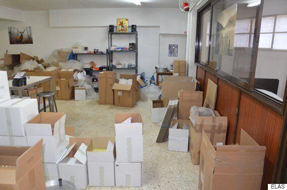 Τα «εργαστήρια» της μαφίας των αναβολικών. Βρέθηκαν 90.000 διεγερτικά τύπου