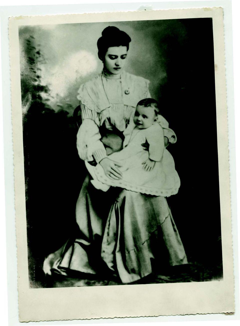 Ο Ξενοφών Ζολώτας με την μητέρα του