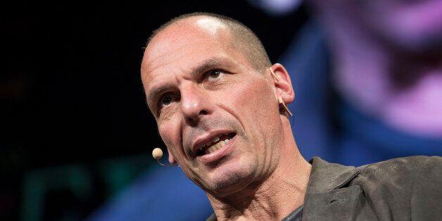 HAY ON WYE, UNITED KINGDOM - MAY 29: Yanis Varoufakis, former Greek finance minister at the Hay Festival...