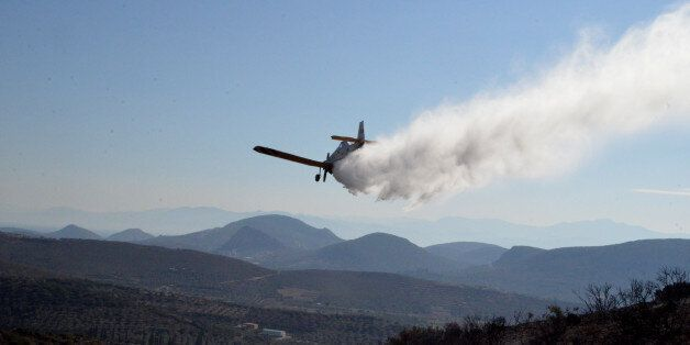 Μεγάλη πυρκαγιά στο Μετόχι Ερμιονίδας στην Αργολίδα. Σε ύφεση η φωτιά στο