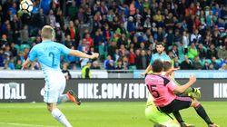 Στα μπαράζ η Ελλάδα με νίκη επί του Γιβραλτάρ. Η Σλοβενία έκανε το χατήρι στους Έλληνες, δεν ηττήθηκε απ'τη Σκωτία