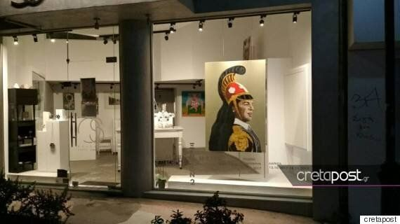O Aλέξης Τσίπρας έγινε έργο τέχνης και εκτίθεται σε γκαλερί της Κρήτης ως ένας άλλος...