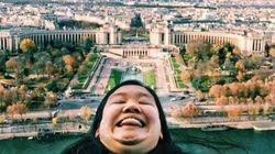 Αυτή η γυναίκα πηγαίνει ταξίδια με το προγούλι της και το Instagram τη