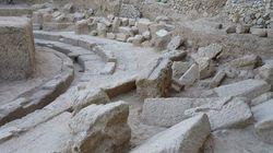 Αποκαλύφθηκε σημαντικό τμήμα του θεάτρου της Αρχαίας Θουρίας στη