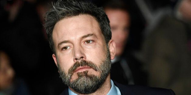 Ben Affleck arrives at the European Premiere of Live by Night at the British Film Institute in London,...