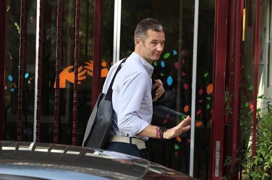 Iñaki Urdangarin, a su llegada al centro donde realizará labores de