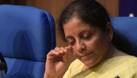 'What About Tobacco?' Twitter Not Happy With Nirmala Sitharaman's Retort To Kiran Mazumdar