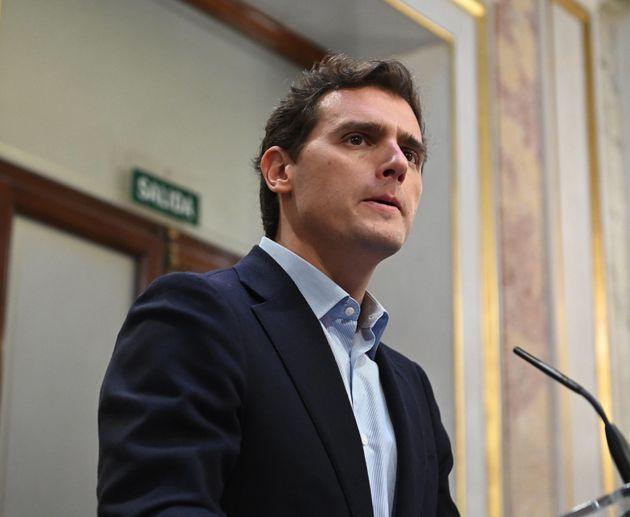 El presidente de Ciudadanos, Albert