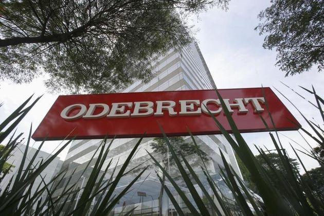 Las oficinas centrales de la constructora Odebrecht, en el centro de la trama de corrupción del...