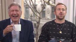 Αυτό το βίντεο με τον Harrison Ford και τον Ryan Gosling να ξεκαρδίζονται θα σας φτιάξει τη