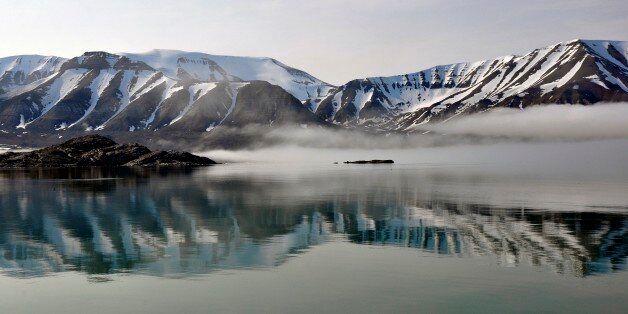 Norway. Svalbard Islands. Spitsbergen Island. (Photo by: Hermes Images/AGF/UIG via Getty