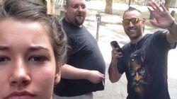 Ο σημαντικός λόγος που αυτή η γυναίκα βγάζει selfies με όσους άντρες την παρενοχλούν
