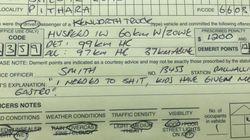 Η τροχαία δημοσιεύει τις πιο εξωφρενικές δικαιολογίες από «γρήγορους» οδηγούς για να γλιτώσουν την