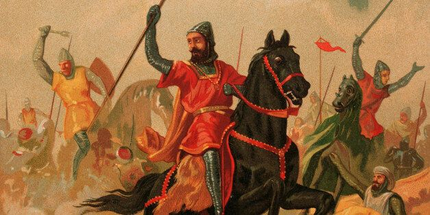 Almogavars. 13th-14th centuries. Catalan and Aragonese's mercenaries who fight in the Spanish Reconquest...