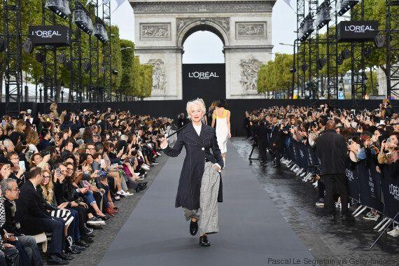 H 72χρονη Helen Mirren και η 79χρονη Jane Fonda έκλεψαν την παράσταση στην εβδομάδα μόδας του