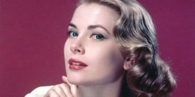 American actress Grace Kelly (1929 - 1982) in a lace-trimmed top, circa 1955. (Photo by Silver Screen Collection/Hulton Archive/Getty Images)