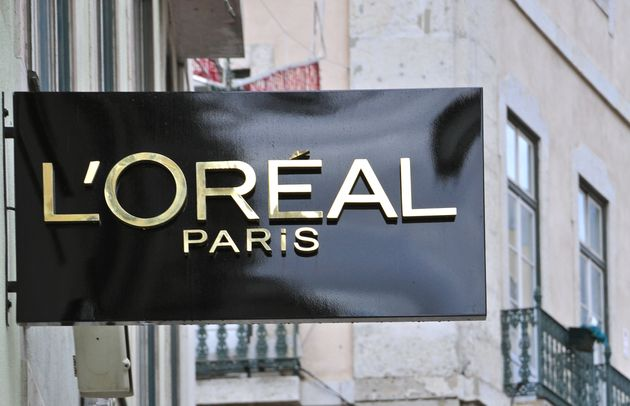 Lisbon, Portugal - December 25, 2012: The 1st worldwide boutique L'Oreal in Baixa district in Lisbon...