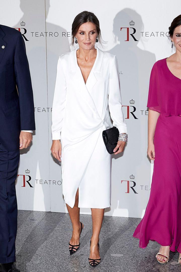 La reina Letizia en la inauguración de la temporada 2019/2020 del Teatro Real.