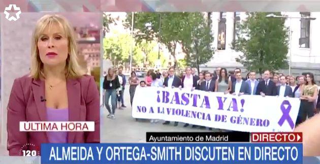 Pancarta del Ayuntamiento de
