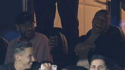 Neymar et Mbappé en tribunes pendant PSG-Real Madrid inspirent les