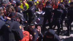 Una jueza cita como imputados a varios diputados de Podemos por la protesta de