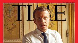 Macron dévoile au