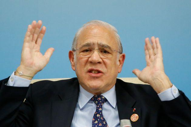 Ángel Gurría, secretario general de la Organización para la Cooperación y el Desarrollo Económicos (OCDE),...