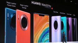 Les Huawei Mate 30, de vrais bolides... privés du moteur