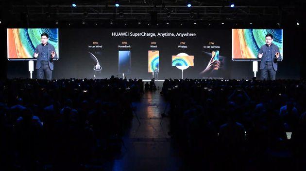 La recharge rapide des Huawei Mate