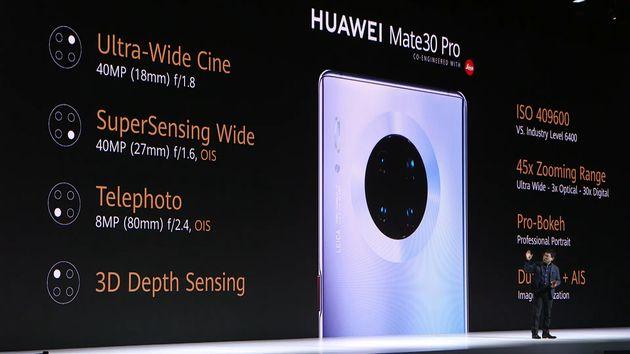 L'appareil photo du Huawei Mate 30