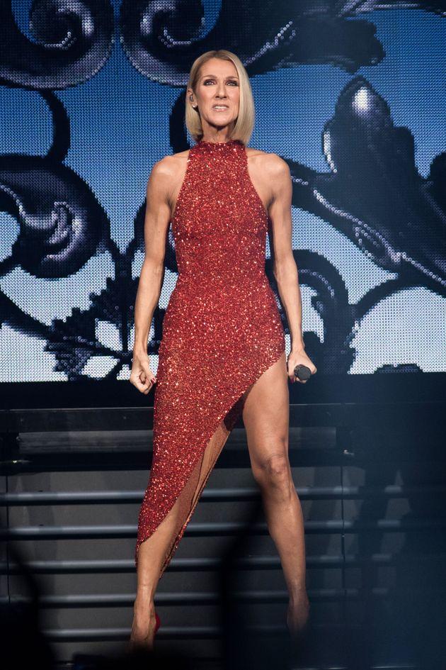 Céline Dion magnifique pour sa première mondiale à