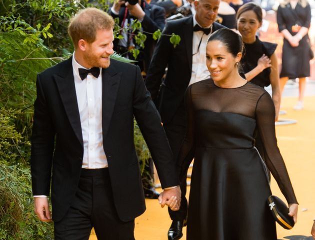 The Duke of Sussex and Meghan, Duchess of Sussex attend