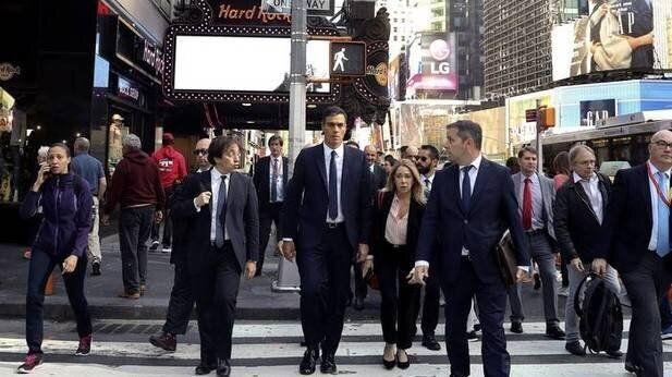 Imagen de archivo de Sánchez en Nueva