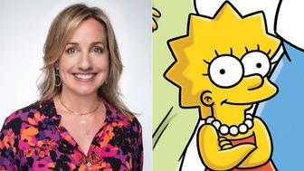 Lisa Simpson, left, and Lisa Simpson.