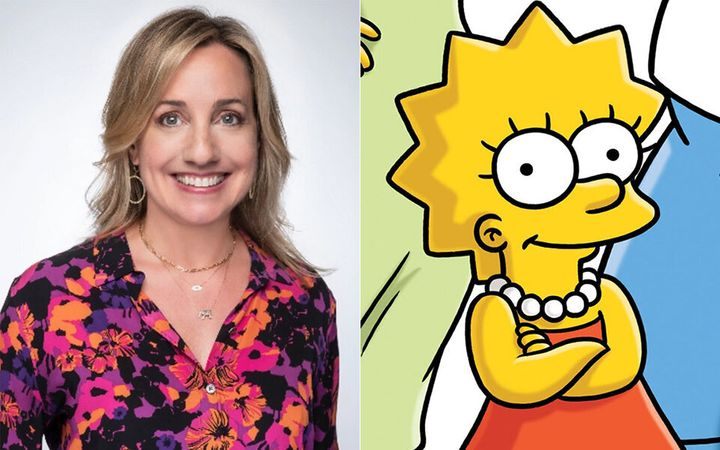 Lisa Simpson, left, and Lisa Simpson.